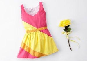 Mini Fashionista: Girls' Colorblocked Designs