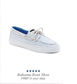 Bahama Boat Shoe | PREP in your step