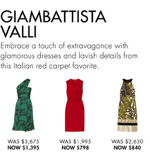 SHOP GIAMBATTISTA VALLI