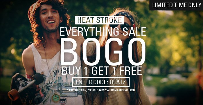 Everything Sale: Buy 1, Get 1 Free