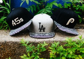 Shop Limited Edition: Patterned MLB Hats