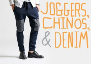 Shop Best Bottoms ft. Joggers & Chinos