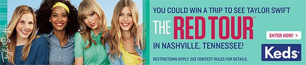 Win a chance to see Taylor Swift in Nashville!