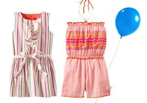 Pattern Play: Girls' Striped Styles