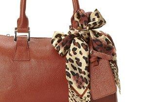 Wear Together: Satchels & Silk Scarves