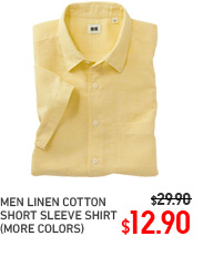 MEN LINEN COTTON SHIRT