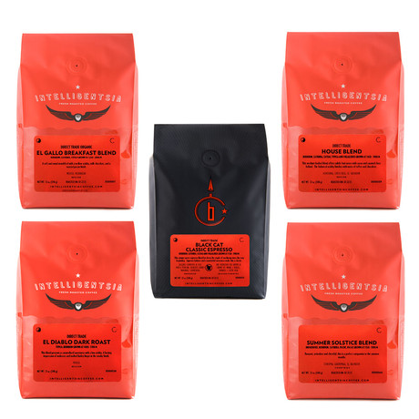 Intelligentsia Coffee // 5-Pack
