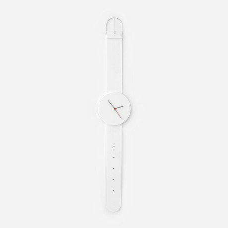 Watch Clock // White