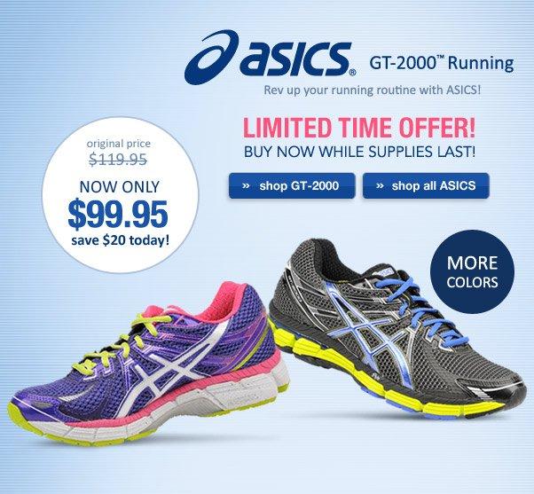 ASICS GT 2000 - Only $99.95!