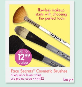 Face sEcrets cosmetic Brushes