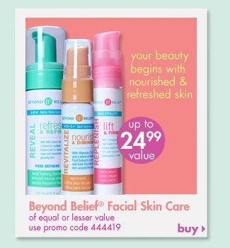 Beyond Beief Facial Skin Care