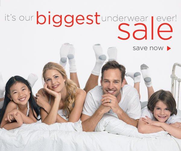 Biggest Underwear Sale Ever