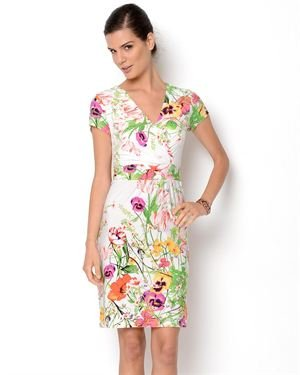 Shelby & Palmer Floral Printed Dress