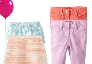 Little Fashionista: Girls' Bottoms