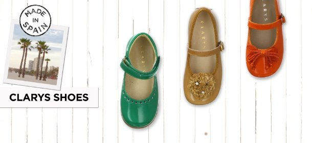 MADE IN SPAIN: CLARYS SHOES, Event Ends August 7, 9:00 AM PT >