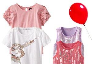 Little Fashionista: Girls' Tops