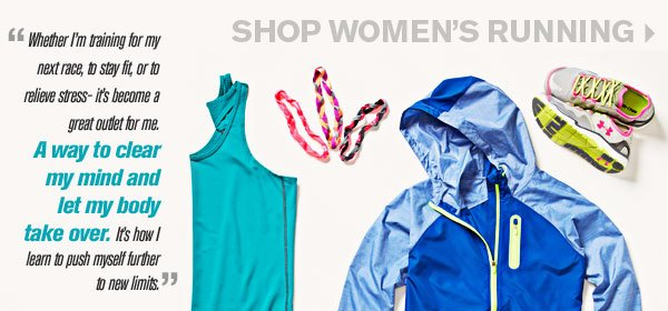 SHOP WOMEN'S RUNNING