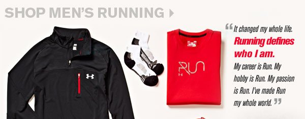 SHOP MEN'S RUNNING