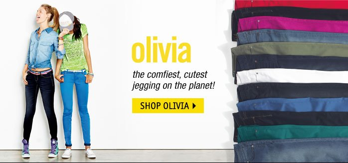 olivia - comfiest, cutest  jegging on the planet!