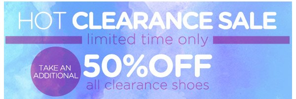 HOT Clearance Sale! 50% OFF