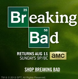 SHOP BREAKING BAD