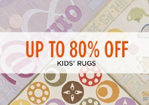 Up to 80% Off: Kids' Rugs