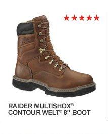 "Raider MultiShox Contour Welt 8"" Boot"