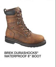 """Brek Durashocks Waterproof 8"""" Boot"""