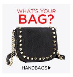 What's Your Bag? Shop Handbags