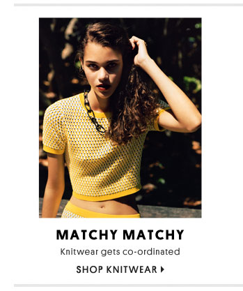 Matchy matchy - Shop knitwear