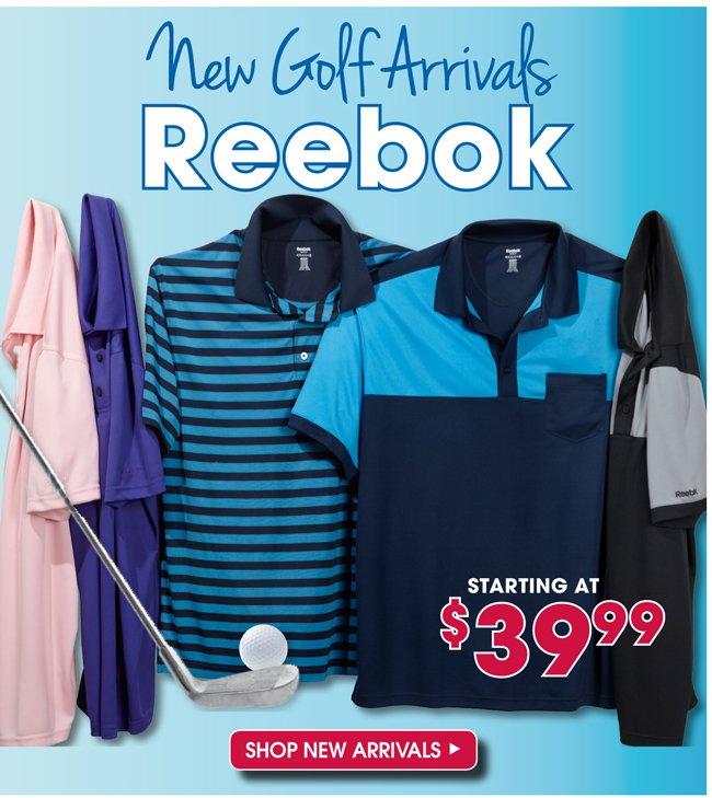 NEW GOLF ARRIVALS | REEBOK | SHOP NEW ARRIVALS