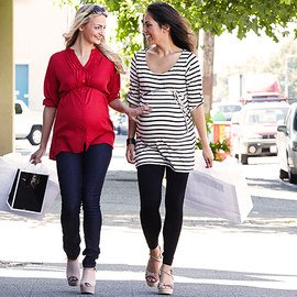 Stripes & Solids: Maternity Apparel