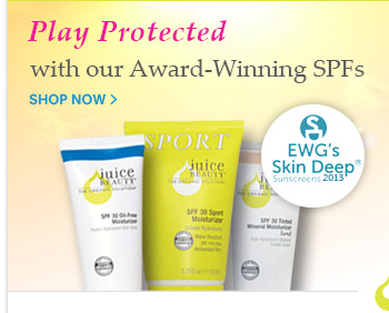 Play Protected with our Award-Winning SPFs