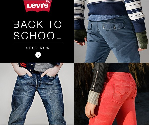 Levis® Back to School. Shop now.