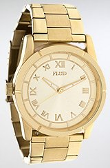 Moment Watch in Gold Linked