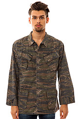Tiger Stripe Vintage Vietnam Era Fatigue Shirt