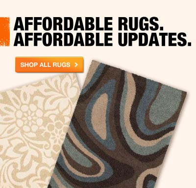 AFFORDABLE RUGS. AFFORDABLE UPDATES.