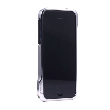 Moat Stainless Steel Bumper Case // iPhone 5