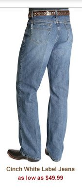 Cinch White Label Jeans as low as 49.99