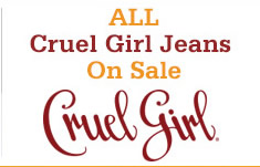 Shop Womens Cruel Girl Jeans on Sale