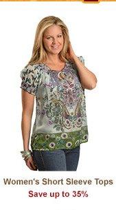 Shop Womens Short Sleeve Tops