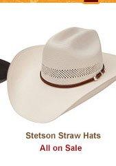 Stetson Straw Hats