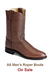 Shop Mens Roper Boots on Sale