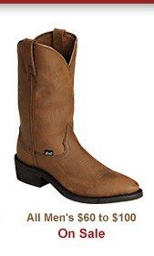 Shop Mens 60 to 100 Boots