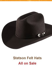 Stetson Felt Hats