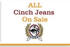 Shop Mens Cinch Jeans on Sale