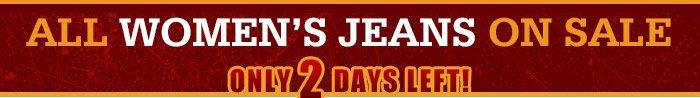 Shop Womens Jeans on Sale