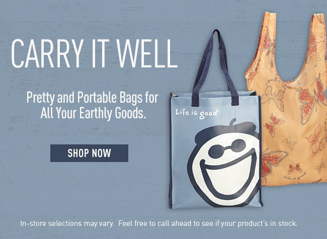 Shop all Life is good Recycle Totes