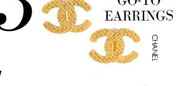 3 - The GO-TO EARRINGS - CHANEL