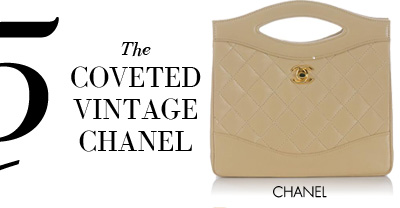 5 - The COVETED VINTAGE CHANEL - CHANEL